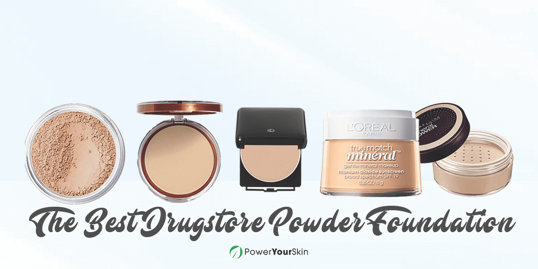 Best Drugstore Powder Foundation