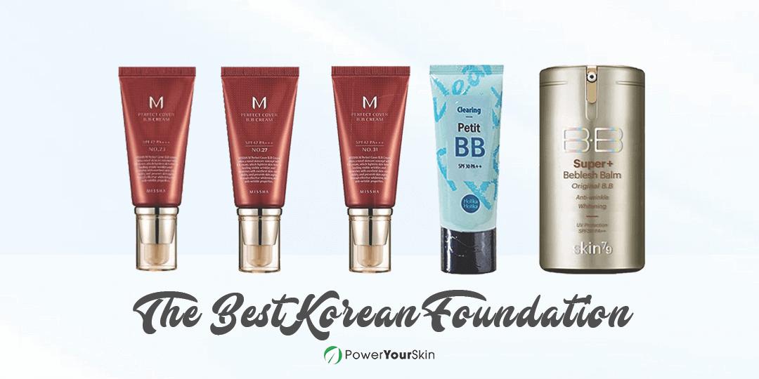Best Korean Foundation