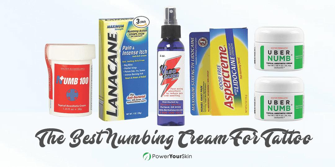 Best Numbing Cream For Tattoo